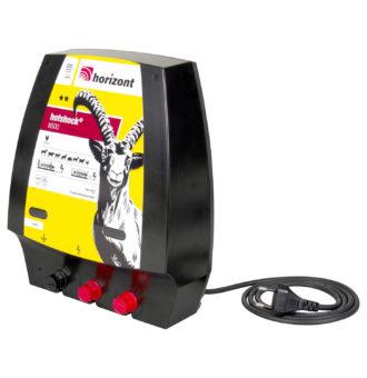 Stranski prikaz električnega pastirja Horizont Hotshock N500 s kablom