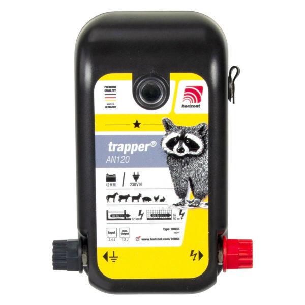 Na sliki je električni pastir Horizont Trapper AN120 Kombi