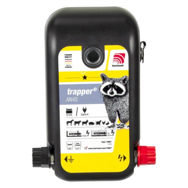 Na sliki je električni pastir Horizont Trapper AN45