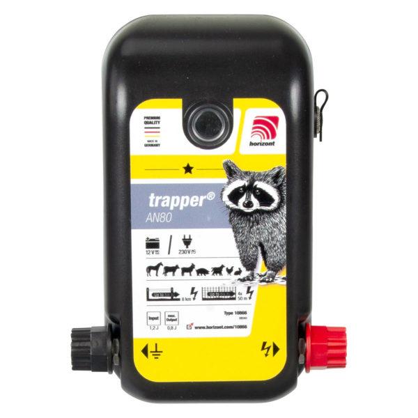 Na sliki je električni pastir Horizont Trapper AN80 kombi