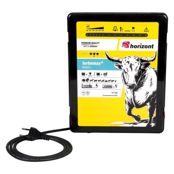 Na sliki je električni pastir Horizont Turbomax AN800 Dual