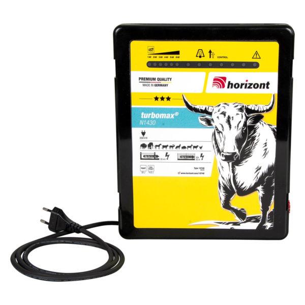 Na sliki je električni pastir Horizont Turbomax N1430
